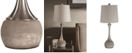 Uttermost Niah Brushed Nickel Lamp