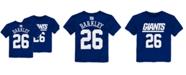 Outerstuff Saquon Barkley New York Giants Mainliner Player T-Shirt, Toddler Boys (2T-4T)