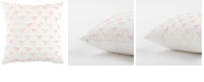 """Rizzy Home 12"""" x 12"""" Geometrical Design Poly Filled Pillow"""