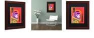 "Trademark Global Craig Snodgrass 'Astro-Anna I' Matted Framed Art, 11"" x 14"""