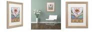 """Trademark Global Rachel Paxton 'LC Monarch' Matted Framed Art, 16"""" x 20"""""""