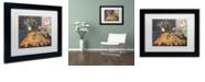 "Trademark Global Craig Snodgrass 'Jesus Saves' Matted Framed Art, 11"" x 14"""