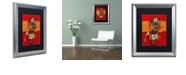 """Trademark Global Craig Snodgrass 'Segmented Man III' Matted Framed Art, 16"""" x 20"""""""