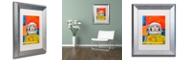"Trademark Global Craig Snodgrass 'Interstellar-inga' Matted Framed Art, 11"" x 14"""