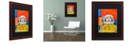 "Trademark Global Craig Snodgrass 'Interstellar-inga' Matted Framed Art, 16"" x 20"""