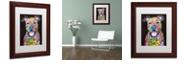 "Trademark Global Dean Russo 'I Fear' Matted Framed Art, 11"" x 14"""