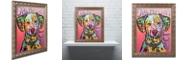 "Trademark Global Dean Russo 'Dalmatian Luv' Ornate Framed Art, 16"" x 20"""