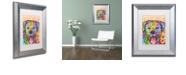 """Trademark Global Dean Russo 'Rottweiler Luv' Matted Framed Art, 11"""" x 14"""""""