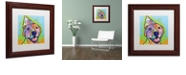 """Trademark Global Dean Russo 'Calendar Roxy' Matted Framed Art, 11"""" x 11"""""""
