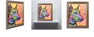 """Trademark Global Dean Russo 'Doberman Luv' Ornate Framed Art, 16"""" x 20"""""""