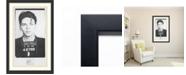 Amanti Art Frank Sinatra Mugshot  Framed Art Print