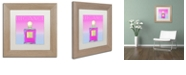 """Trademark Global Color Bakery 'Colored Scents Iii' Matted Framed Art, 11"""" x 11"""""""