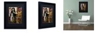 """Trademark Global Color Bakery 'Art Nouveau Zodiac Sagittarius' Matted Framed Art, 11"""" x 14"""""""