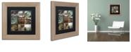 """Trademark Global Color Bakery 'Cabela V' Matted Framed Art, 11"""" x 11"""""""