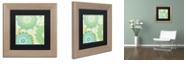 "Trademark Global Color Bakery 'Hope I' Matted Framed Art, 11"" x 11"""