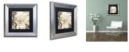 """Trademark Global Color Bakery 'Winter White Ii' Matted Framed Art, 11"""" x 11"""""""