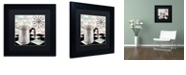"Trademark Global Color Bakery 'Fifties Kitchen V' Matted Framed Art, 11"" x 11"""