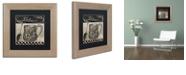 "Trademark Global Color Bakery 'Bistro Parisienne Iii' Matted Framed Art, 11"" x 11"""