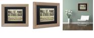 "Trademark Global Color Bakery 'Wallstreet' Matted Framed Art, 11"" x 14"""