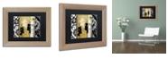 "Trademark Global Color Bakery 'Gardenscape Ii' Matted Framed Art, 11"" x 14"""