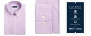 Club Room Men's Slim Fit Performance Mini Gingham Dress Shirt, Created for Macy's