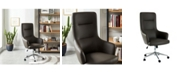 Furniture of America Clyde Adjustable Rolling Office Chair