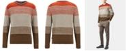 Hugo Boss BOSS Men's Textured Striped Sweater