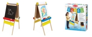 Melissa and Doug Double-Sided Wooden Art Easel