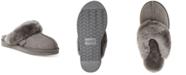 Dearfoams Fireside Sydney Water-Resistant Shearling Scuff Slippers