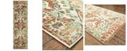 "Oriental Weavers Dawson 8533A Rust/Ivory 2'3"" x 7'6"" Runner Area Rug"