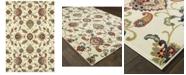 "Oriental Weavers Kashan 9946W Ivory/Multi 1'10"" x 3' Area Rug"