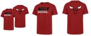'47 Brand Men's Chicago Bulls Fade Back Super Rival T-Shirt