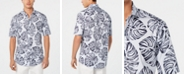 Club Room Men's Madison Palm Graphic Shirt, Created for Macy's