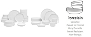 Noritake Colortex Stone 20-Pc  Dinnerware Set, Created for Macy's, Service for 4