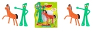 """Gumby NJ Croce and Pokey 6"""" Bendable Figure Pair"""