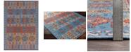 "Surya CLOSEOUT! Sajal SAJ-1062 Bright Orange 5' x 7'6"" Indoor/Outdoor Area Rug"