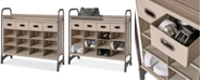 Neatfreak Maximize Stackable 16-Cubby Shoe Organizer with 4 Drawers