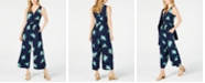 Maison Jules Ruched-Front Jumpsuit, Created for Macy's