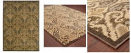 """Oriental Weavers CLOSEOUT!  Casablanca 4464A Green/Ivory 7'10"""" x 10'10"""" Area Rug"""