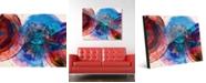 "Creative Gallery Sherno Delta Abstract 16"" x 20"" Acrylic Wall Art Print"