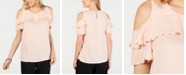 JM Collection Ruffled Off-The-Shoulder Top, Created for Macy's