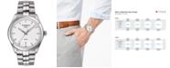 Tissot Men's Swiss T-Classic PR 100 Stainless Steel Bracelet Watch 39mm