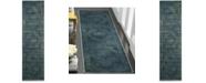 """Safavieh Vintage Blue and Multi 2'2"""" x 8' Runner Area Rug"""