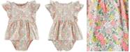 Carter's Baby Girls Floral-Print Cotton Sunsuit