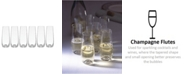 Lenox Tuscany Classics - Stemless Flutes, Set of 6