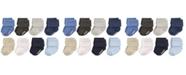 Hudson Baby Non-Skid Cuff Socks, 8-Pack, 0-24 Months