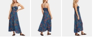 Free People Smocked Printed Maxi Dress
