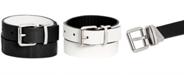 Calvin Klein Big Boys Reversible Embossed Belt