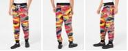True Religion Men's Colorful Camo Jogger Pants