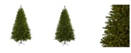 Nearly Natural 7.5' Windermere Christmas Tree w/Clear Lights